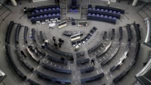 Sitzungssaal des Bundestages
