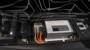 Brennstoffzelle von Daimler (auf der IAA 2009): tanken statt laden