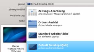 Dank QML können die KDE-Plasma-Shells vereinigt werden.