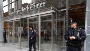Kein Zugang zur New York Times (2008): Die Computersysteme sind wieder sicher.