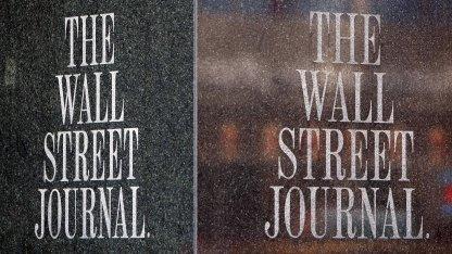 Sitz des Wall Street Journal in New York: Cyberattacken in China verboten