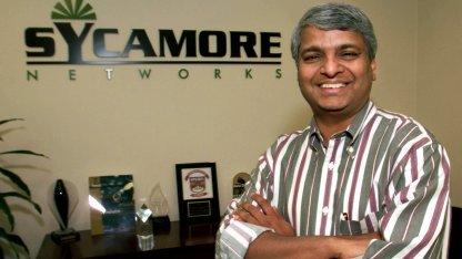Sycamore-Networks-Gründer Guraraj Deshpande im Oktober 1999