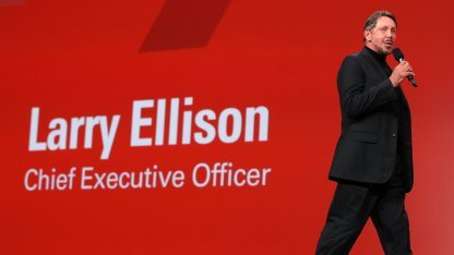 Oracle-Chef Larry Ellison