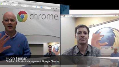 Erster WebRTC-Erfolg vor vier Jahren: Chrome und Firefox sind interoperabel.