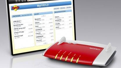 FritzOS 5.50 - einfach mit dem Tablet aufs Heimnetzwerk zugreifen