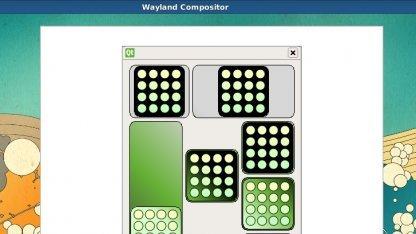 Eine Qt-Anwendung unter Wayland