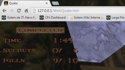 Screenshot Webquake