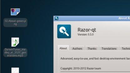 Der Desktop Razor-qt soll auf Qt 5 portiert werden.