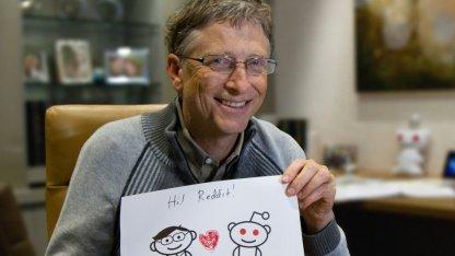 Beweisfotos von Bill Gates
