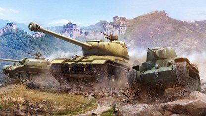Artwork World of Tanks Update 8.3