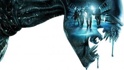 Artwork von Aliens Colonial Marines