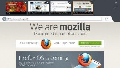 Firefox in Metro-Optik