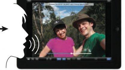 Bildbearbeitung per Sprachbefehl und Touchscreen