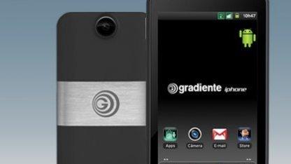So sieht ein iphone in Brasilien aus.