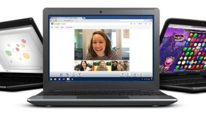 Chromebook mit Googles Chrome OS