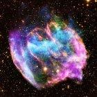 Weltraumteleskop Chandra: Ungewöhnliche Supernova mit jungem schwarzen Loch entdeckt
