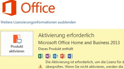 Office 2013 lässt sich mit etwas Aufwand von einem Rechner auf einen anderen transferieren.