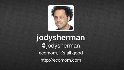 Twitter-Profil von Startup-Gründer Jody Sherman, der sich das Leben genommen hat