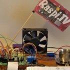 Miniplatine: Raspberry Pi mit der Wiimote steuern