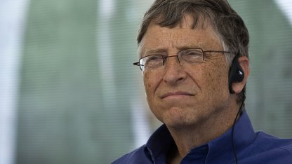 Bill Gates im Februar 2013