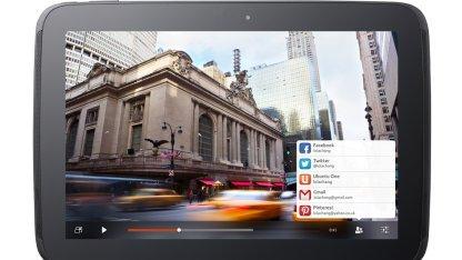 Ubuntu on Tablets kommt noch diese Woche.