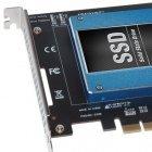 Sonnet: PCI-Express-Karte nimmt zwei SSDs huckepack