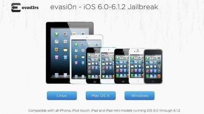 Evasi0n 1.4 - knackt nun auch iOS 6.1.2.