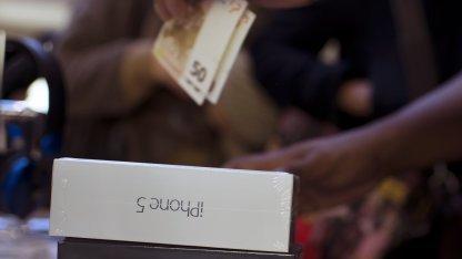 Apples iPhone 5 ist das am besten verkaufte Smartphone.