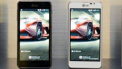 Das Optimus F5 unterstützt LTE.