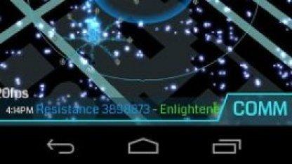 Ingress auf einem Android-Smartphone