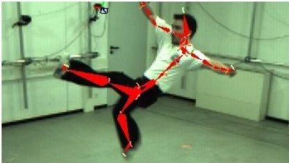 Motion Capture: Der Schauspieler trägt normale Kleidung.