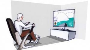 Fitness-Sessel Gewos: Regatta gegen virtuellen Gegner