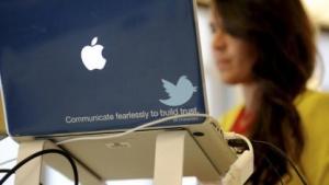 Twitter-Mitarbeiterin im Juli 2012