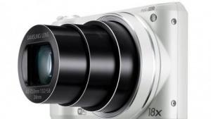 Digitalkamera WB250F mit Evernote-Anbindung