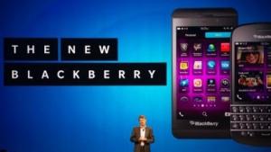 Blackberry-Chef Heins bei der Vorstellung des Z10 und des Q10