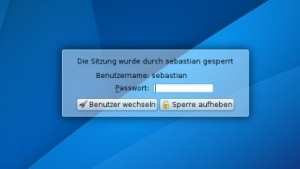 Der neue QML-Screenlocker