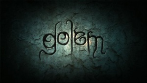 Das Logo des Spiels Der Golem
