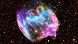 Supernova W49B: nach astronomischen Maßstäben nahe