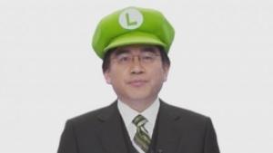 Nintendo-Chef Satoru Iwata läutet das Jahr des Luigi ein.