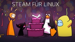 Valve feiert die Fertigstellung von Steam für Linux.