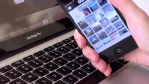 Bump zum Datenaustausch zwischen PC und Mobilgeräten