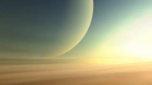 Infinity - Blick aus der Atmosphäre eines Gasriesen