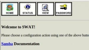 Das Konfigurationswerkzeug Swat soll entfernt werden.
