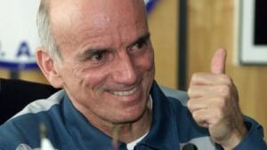 Dennis Tito (nach der Rückkehr von der ISS, Mai 2001): einzigartiges Startfenster