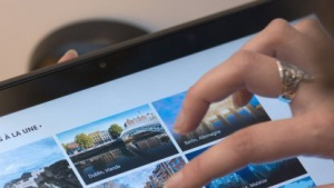 Windows-8-Tablet im November 2012 in Paris