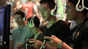 Fifa-12-Spieler auf der Gamescom 2012