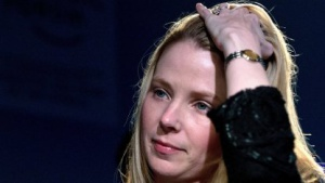 Yahoo-Chefin Marissa Mayer im Januar 2013