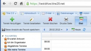 Tine 2.0 ist aktualisiert und unter dem Namen Kristina veröffentlicht worden.