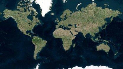 Bing Maps wartet mit höher auflösenden Satellitenfotos auf.