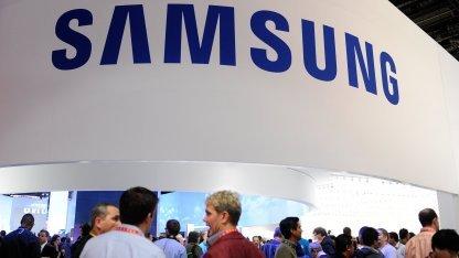 Samsung zeigt Galaxy S4 am 14. März 2013 in New York.